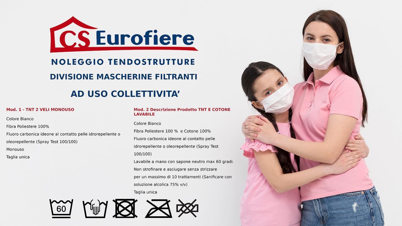 Vendita Mascherine C.S. Eurofiere