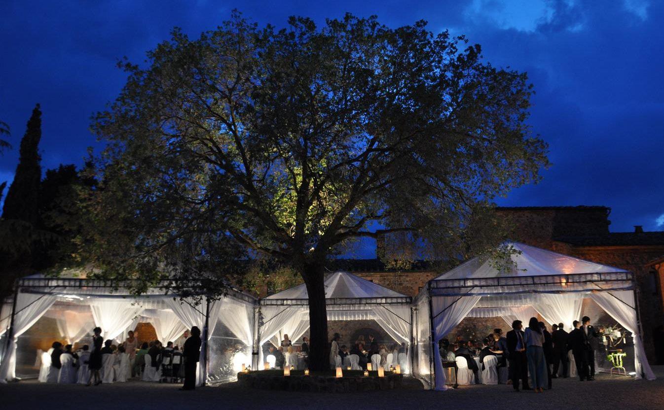 Foto Notturna Borgo Toscano