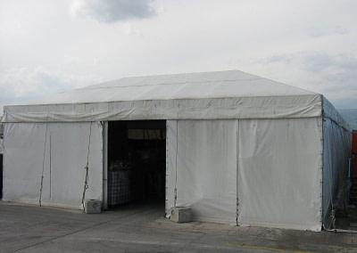 Vista esterna Magazzino Standard
