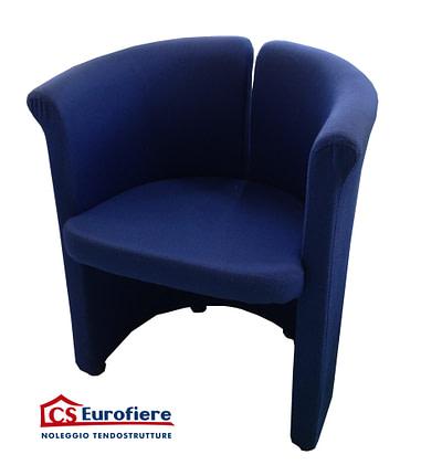 Poltroncina blu