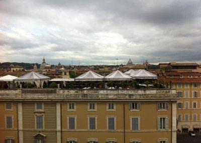 Cerimonia In Terrazza a Roma